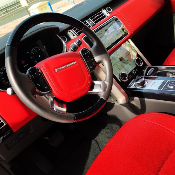 rental Range Rover Autobiography (Black), 2019 in Dubai