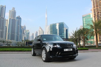 hire Range Rover Sport (Black), 2019 in Dubai
