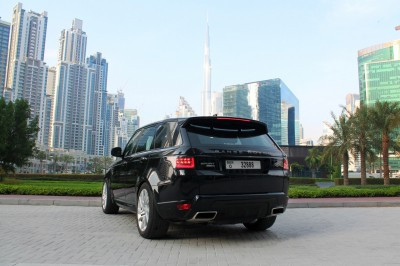 Range Rover Sport (Black), 2019 for rent in Dubai price
