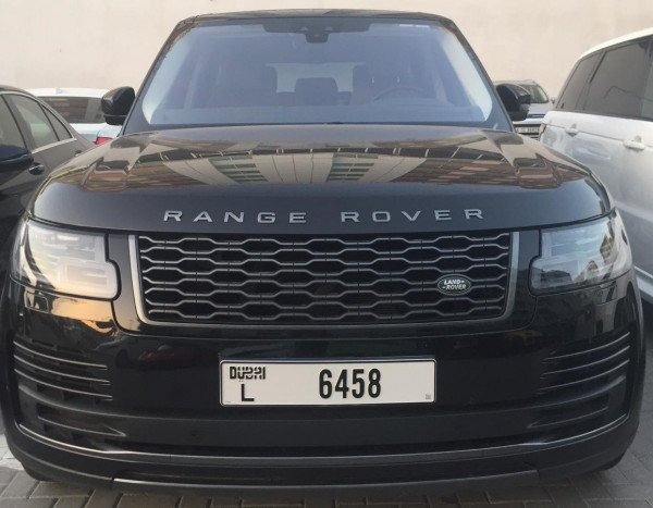 hire Range Rover Vogue (Black), 2019 in Dubai price