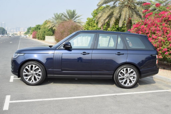 rental Range Rover Vogue (Blue), 2019 in Dubai