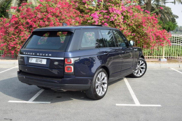 Range Rover Vogue (Blue), 2019 for rent in Dubai price