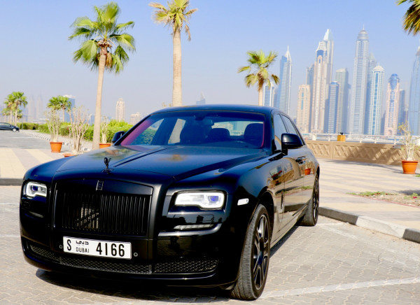 Rolls Royce Ghost (Black), 2017 for rent in Dubai