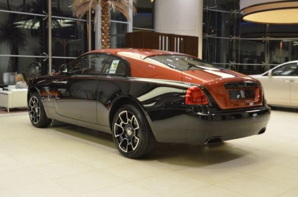 Rolls Royce Wraith-BLACK BADGE ADAMAS 1 OF 40 (Черный), 2020 аренда в Дубай
