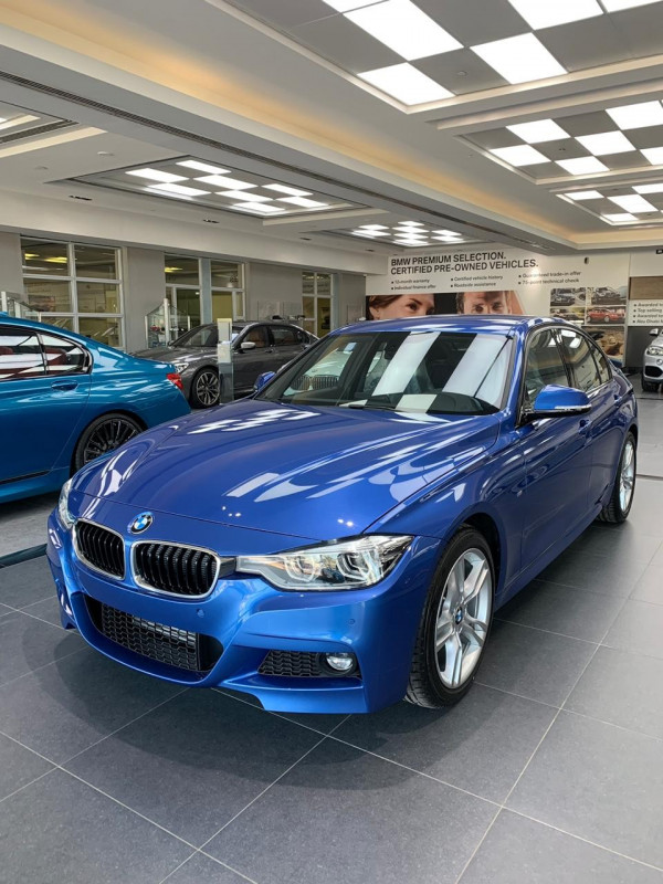 hire BMW 318 (Blue), 2019 in Dubai