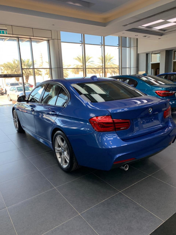 hire BMW 318 (Blue), 2019 in Dubai price