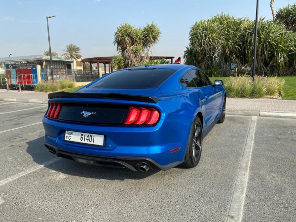 Ford Mustang (Blue), 2019 for rent in Dubai price