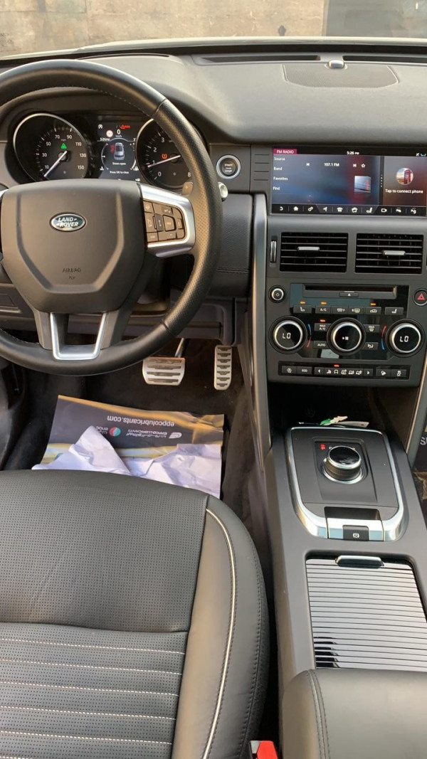 Range Rover Discovery (Blue), 2019 for rent in Dubai