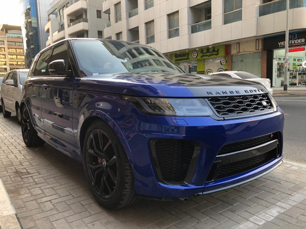rental Range Rover Sport SVR (Blue), 2019 in Dubai price