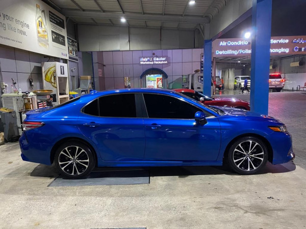 Toyota Camry SE (Blue), 2019 for rent in Dubai