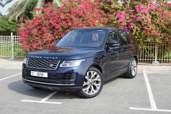 hire Range Rover Vogue (Blue), 2019 in Dubai