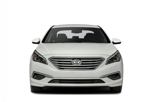 rental Hyundai Sonata (Bright White), 2017 in Dubai price