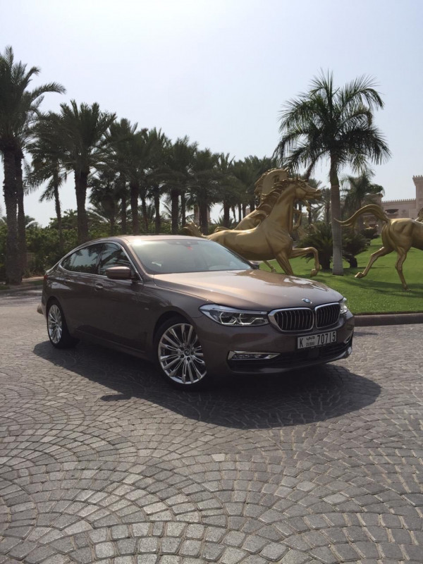 BMW 640 GT (Brown), 2019 for rent in Dubai price