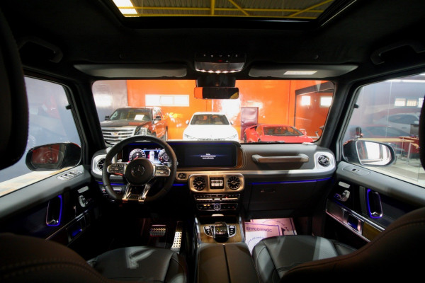 Mercedes G63 AMG (Brown), 2019 for rent in Dubai