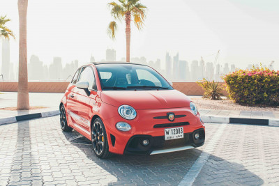 Fiat Abarth 595 (Red), 2019 for rent in Dubai