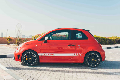 Fiat Abarth 595 (Red), 2019 for rent in Dubai price