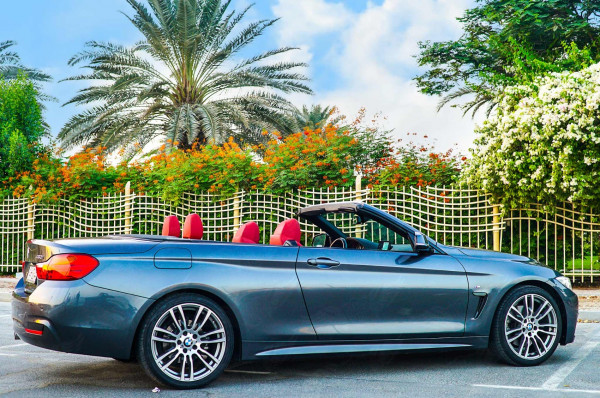 BMW 430 Cabriolet (Grey), 2019 for rent in Dubai price