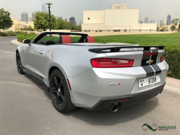 hire Chevrolet Camaro (Grey), 2018 in Dubai