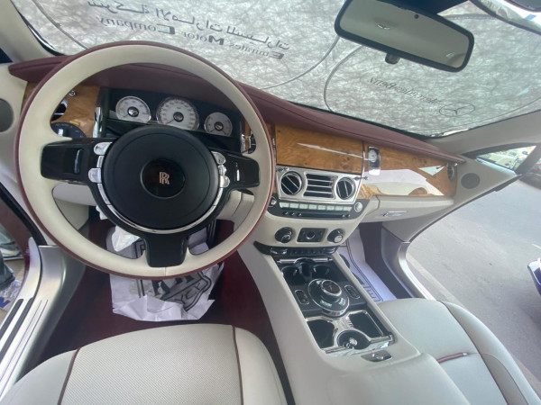 Rolls Royce Wraith (Maroon), 2020 for rent in Dubai price