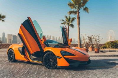 McLaren 570S (Orange), 2016 for rent in Dubai