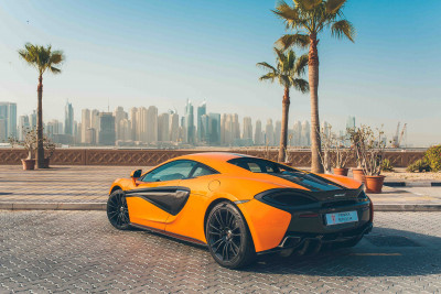 McLaren 570S (Orange), 2016 for rent in Dubai price