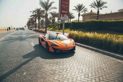 rental McLaren 570S (Orange), 2016 in Dubai price