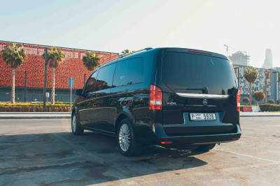 hire Mercedes V Class (Black), 2018 in Dubai
