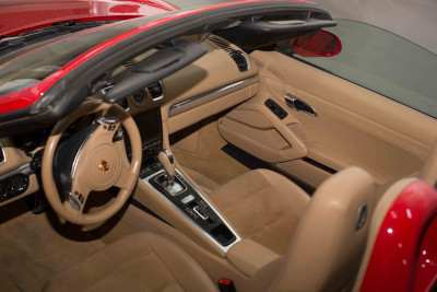 Porsche Boxster 981 (Red), 2016 for rent in Dubai reviews