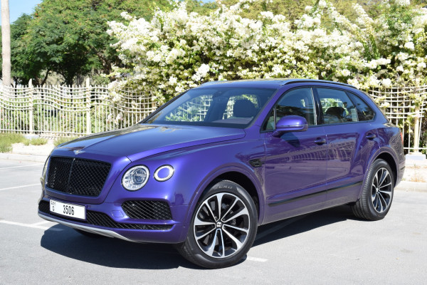 прокат Bentley Bentayga (), 2020 в Дубай цена
