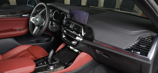 BMW X4 (Red), 2018 for rent in Dubai
