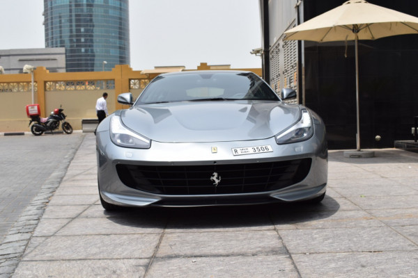 Ferrari GTC4 Lusso (Silver), 2018 for rent in Dubai price