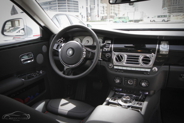 Rolls Royce Ghost (Silver Grey), 2017 for rent in Dubai price