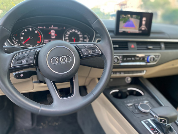 hire Audi A4 with RS4 bodykit (White), 2019 in Dubai