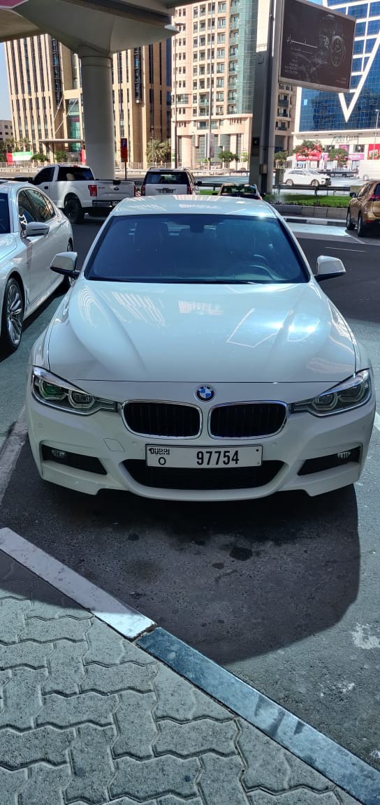 BMW 318 (White), 2019 for rent in Dubai