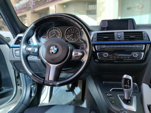 rental BMW 318 (White), 2019 in Dubai