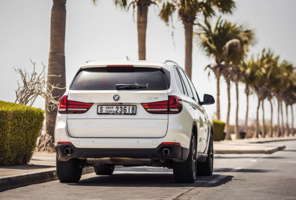 hire BMW X5 (White), 2015 in Dubai