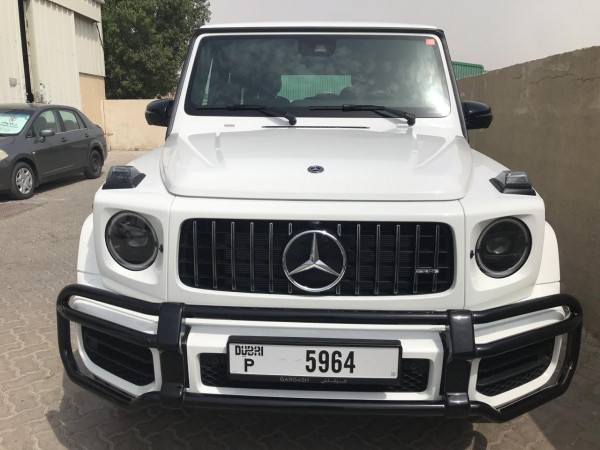 rental Mercedes G63 AMG (White), 2019 in Dubai price