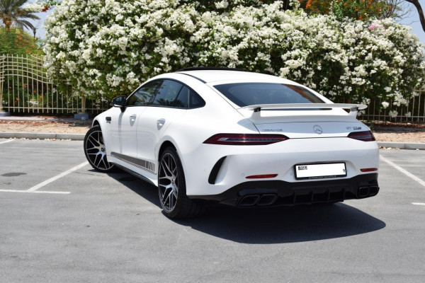 Mercedes GT 63S AMG (White), 2020 for rent in Dubai