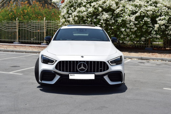 rental Mercedes GT 63S AMG (White), 2020 in Dubai