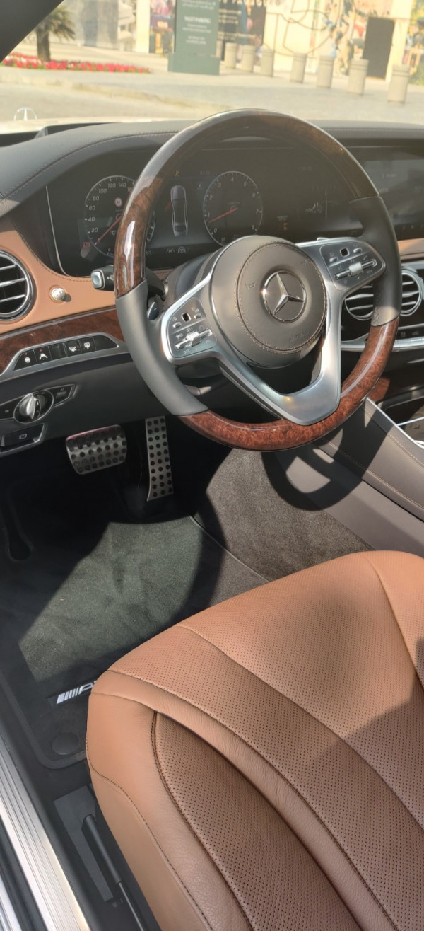 hire Mercedes S Class (White), 2020 in Dubai