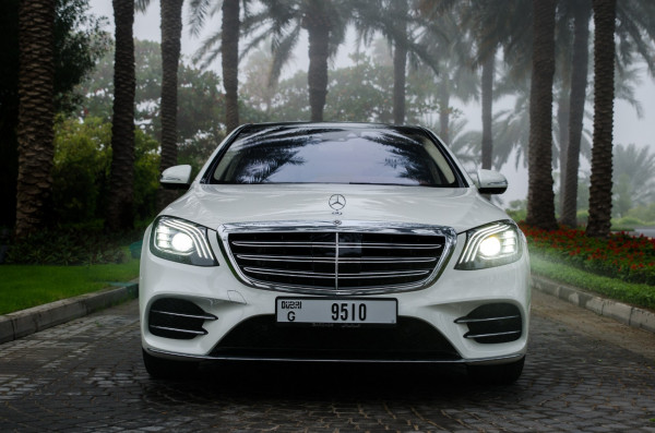 rental Mercedes S Class (White), 2020 in Dubai
