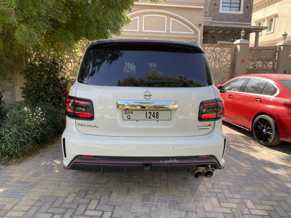 Nissan Patrol Nismo (White), 2018 for rent in Dubai