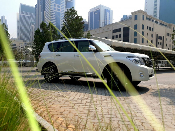 Nissan Patrol (Bright White), 2018 for rent in Dubai reviews