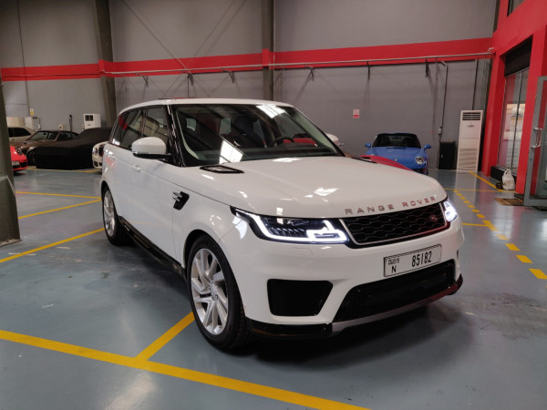 Range Rover Sport HSE (White), 2019 for rent in Dubai