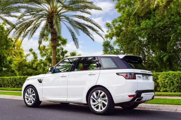Range Rover Sport Supercharged (White), 2019 for rent in Dubai price