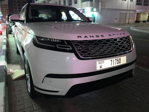 hire Range Rover Velar (White), 2019 in Dubai