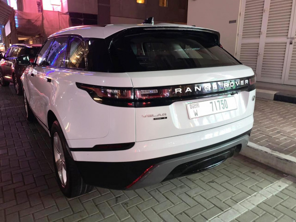 rental Range Rover Velar (White), 2019 in Dubai
