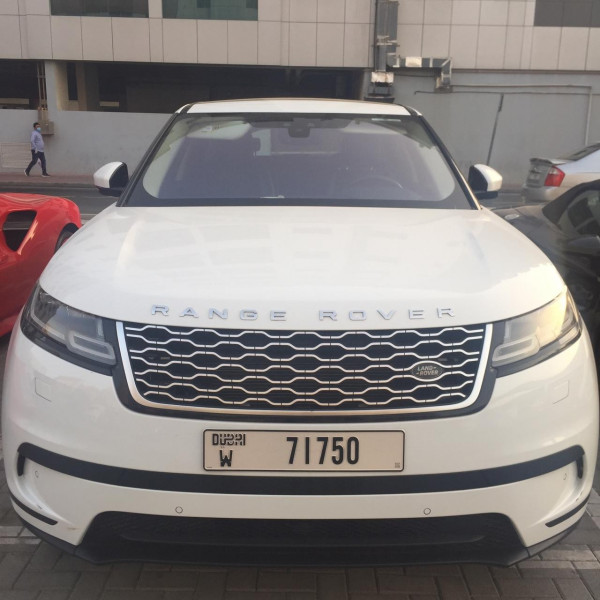 hire Range Rover Velar (White), 2019 in Dubai price
