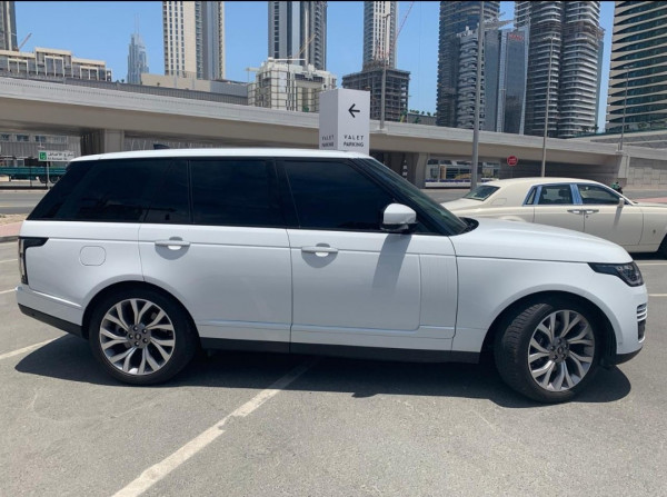прокат Range Rover Vogue Supercharged (Белый), 2019 в Дубай