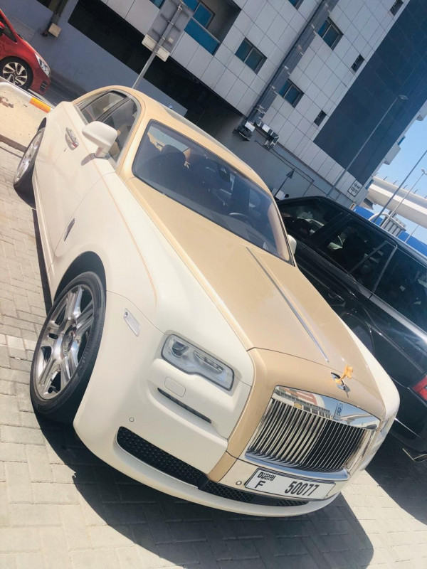 Rolls Royce Ghost (White), 2019 for rent in Dubai price